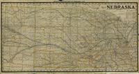 Official railway map of Nebraska, 1937