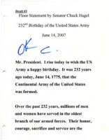 232nd Birthday of the United States Army