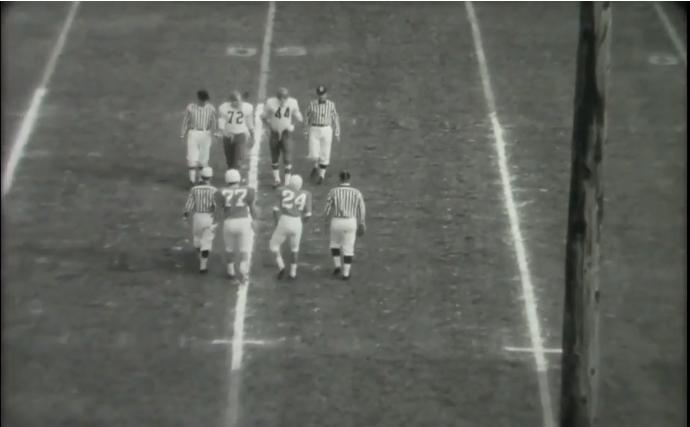 Omaha University vs Drake University Football Game, November 20, 1965