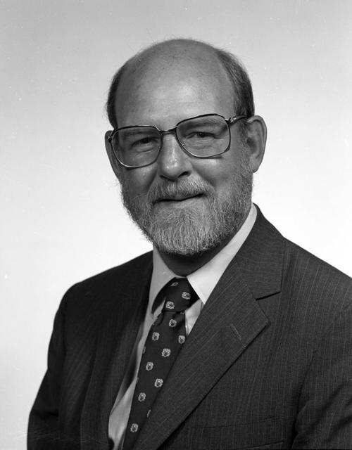 Portrait of Kent Kirwan, UNO political science professor, taken in July 1984., UNO Libraries' Archives & Special Collections