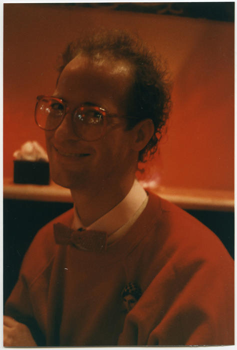 Tim Crosen (Caucasian man) smiling for the camera., UNO Libraries' Archives & Special Collections