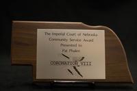 Community Service Award to Pat Phalen