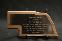 Fantasy Award to Pat Phalen and Terry Sweeney