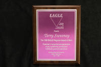 EAGLE Regional Award of Merit to Terry Sweeney, 1996