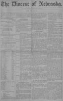 The Diocese of Nebraska - Vol.1, No.5, May 1889