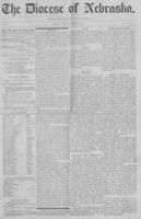 The Diocese of Nebraska - Vol.1, No.10, October 1889