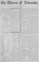 The Diocese of Nebraska - Vol.1, No.9, September 1889