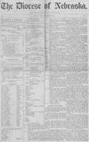 The Diocese of Nebraska - Vol.1, No.12, December 1889