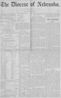 The Diocese of Nebraska - Vol.1, No.8, August 1889