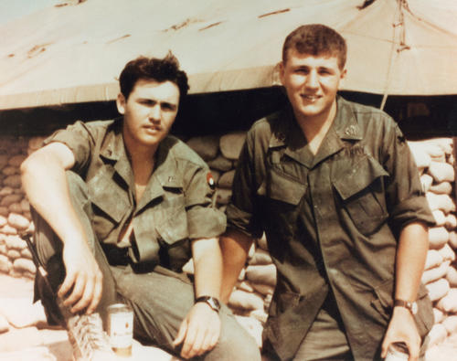 Chuck and Tom served together in Vietnam. They are believed to be the only brothers to do so during this war., UNO Libraries' Archives & Special Collections