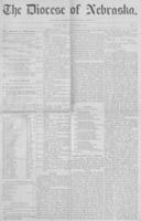 The Diocese of Nebraska - Vol.1, No.11, November 1889